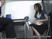 Съемка скрытой камерой девушек
