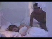 Кончил спящей девушке видео