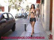 Порно видео эксгибиционист дрочит публично