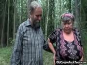 Порно в лесу руское