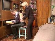 Русское секс парень трахул училку